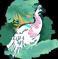 tropisk fågel
