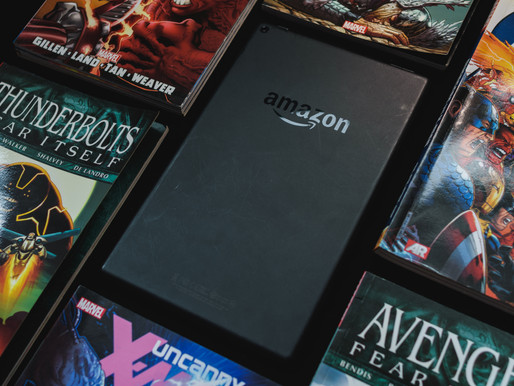 Reading Comics on Amazon's Fire HD 10!