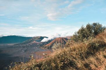 Onlooking Mt. Bromo