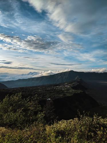 Overlooking Cemero Lawang