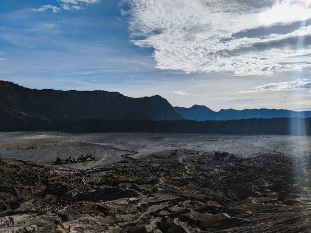 On top of Mt. Bromo
