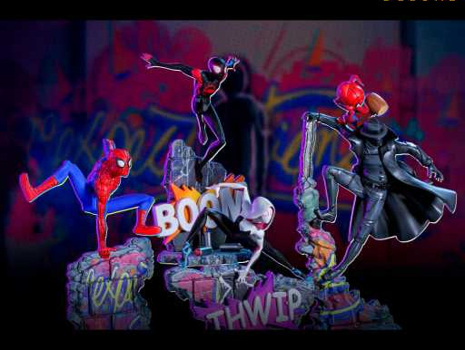 Iron Studio's Spider-Man: Into the Spider-Verse 1/10 Statues Out for Pre-order