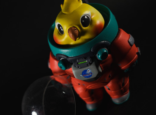 Space Adventures Animal Astronaut by Foxtail Toys and Ak Studios