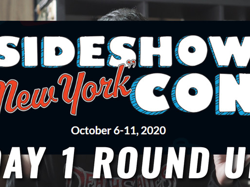 Sideshow New York Con 2020 Day 1 Round Up!