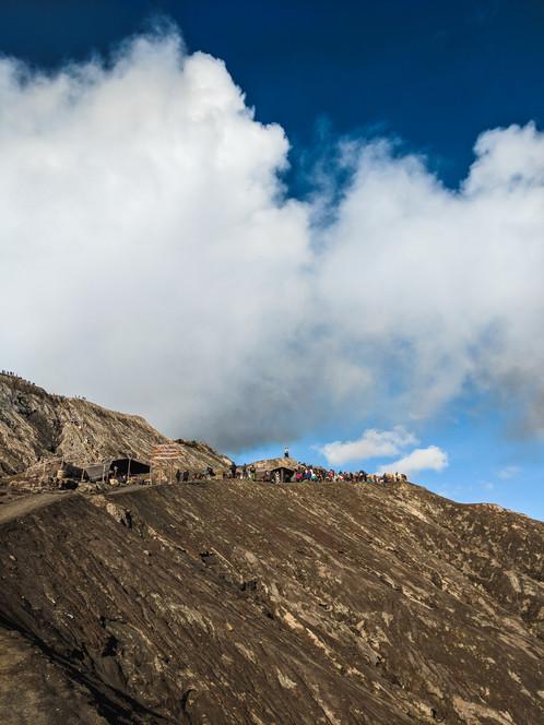 Summit of Mt. Ijen