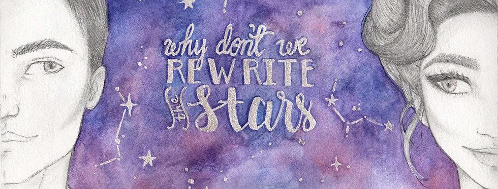 Rewrite the Stars Postcard