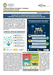 Boletín informativo 17 - 2020