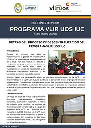 Detrás del proceso de descentralización del programa VLIR UOS IUC