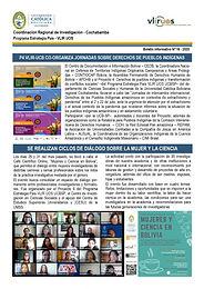 Boletín informativo 16 - 2020