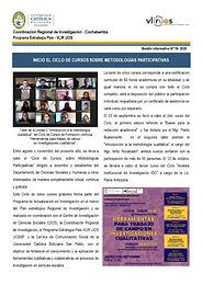 Boletín informativo 19 - 2020