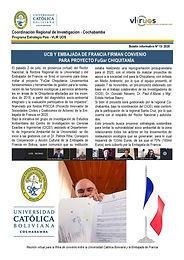Boletín informativo 13 - 2020