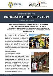 ¿Qué es el Programa IUC VLIR UOS - UCB?