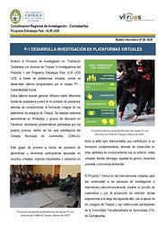 Boletín informativo 20 - 2020