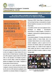 Boletín informativo 18 - 2020