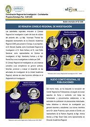 Boletín informativo 22 - 2020