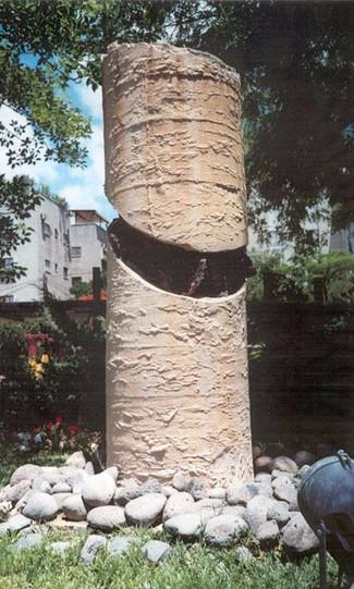 פסל הנצחה לזכרו של גלעד גלאון
