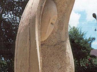 Memorial sculpture in memory of Yaniv Hezekiah