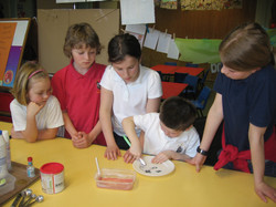 Science Week toothpaste experiment