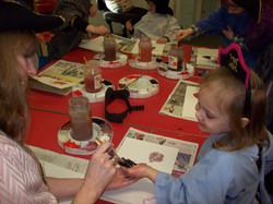 Preschoolers join in the pirate fun