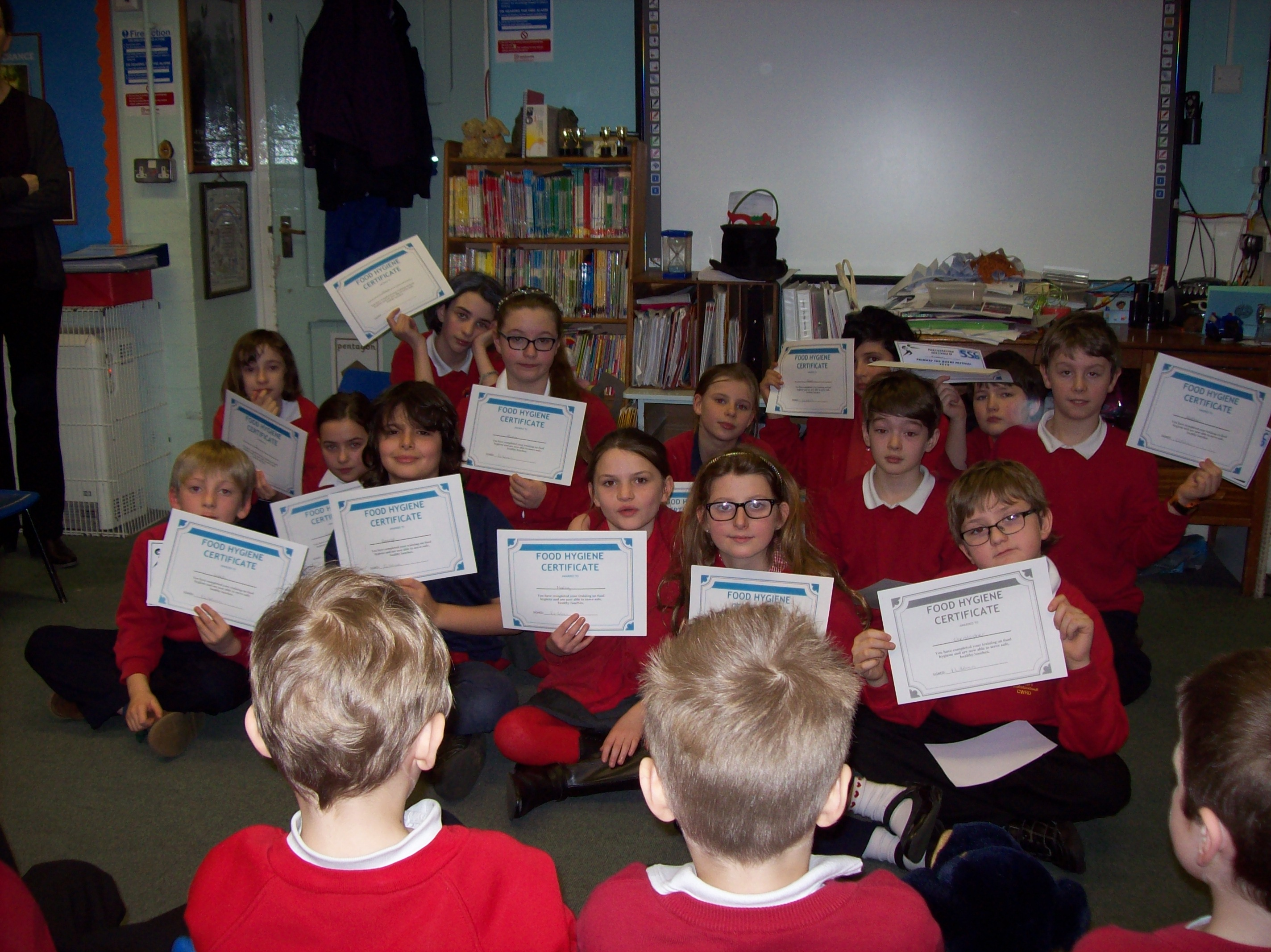 Food hygiene certificates