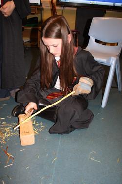 Wand making
