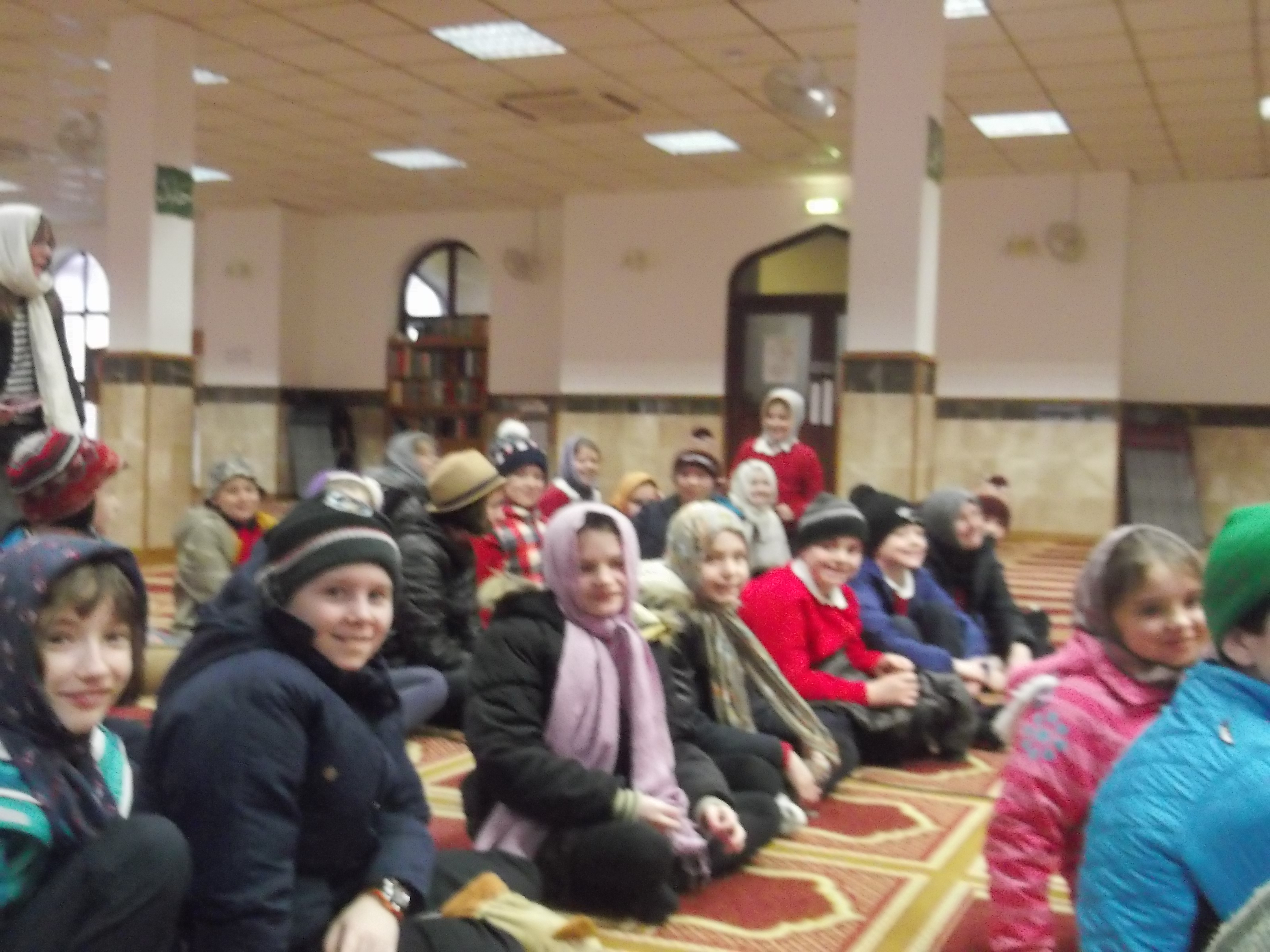 Junior's visit to the mosque_