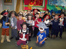 Infants' pirate day