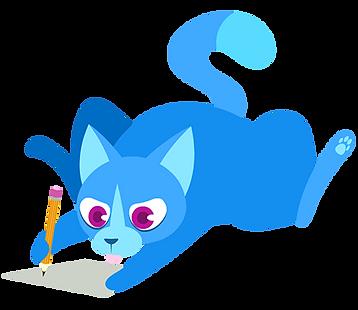Yorogato illustration art awesome design vap vaporotem cat cats