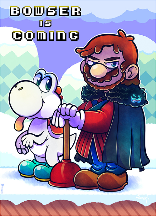 Bowser Is Coming