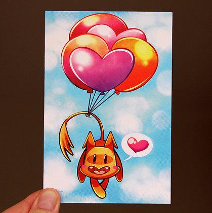 Kuskus Greeting Card