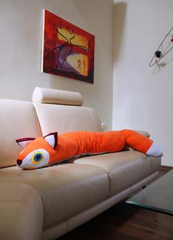 Huge Fox Pillow