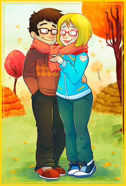 Couple's Card Commission