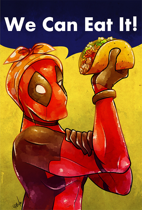 Deadpool We Can Eat It