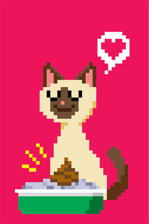 Pixel Art Cat
