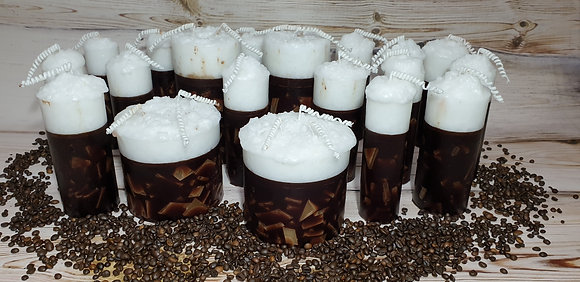 Svíce Cappuccino 7x16