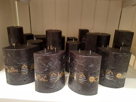 Svíce Černá 6x12x16 ELIPSA