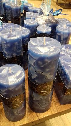 Svíce Blue Dark 7x21