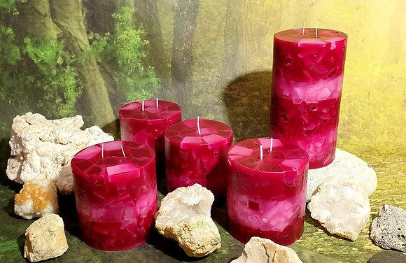 Svíce Rosa 10x10