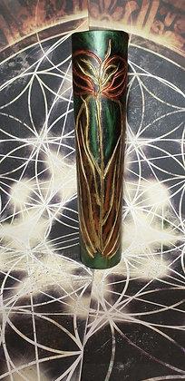 Váza 10,5x50 cm Rytina s motivem