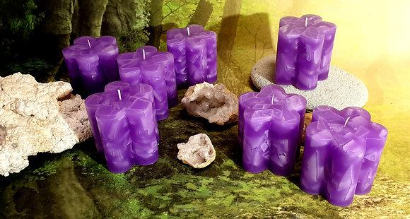 Svíce Violet KVĚTINA 10x10