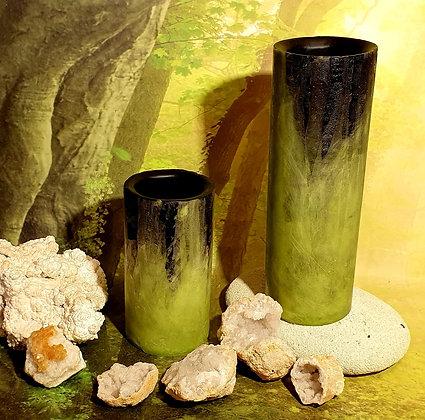 Váza / Květináč 10x30 cm - různé barvy