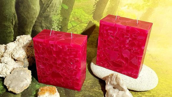 Svíce  Magnolia 7x14x16 KVÁDR