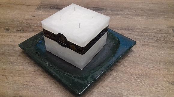 Svíce Bílá 16x16x12