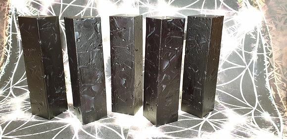 Svíce Černá 6x6x21