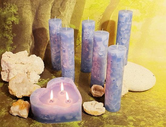 Svíce Ledová Modrá 5x21