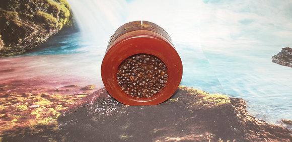 Svíce NATURE Decor 16x12 Káva