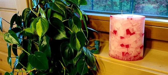 Svíce Jemně růžová 6x12x16 ELIPSA