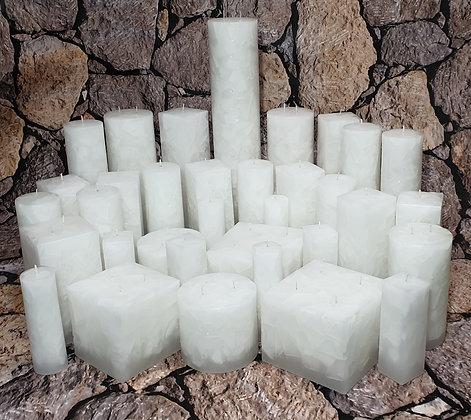 Svíce Bílá 8x21
