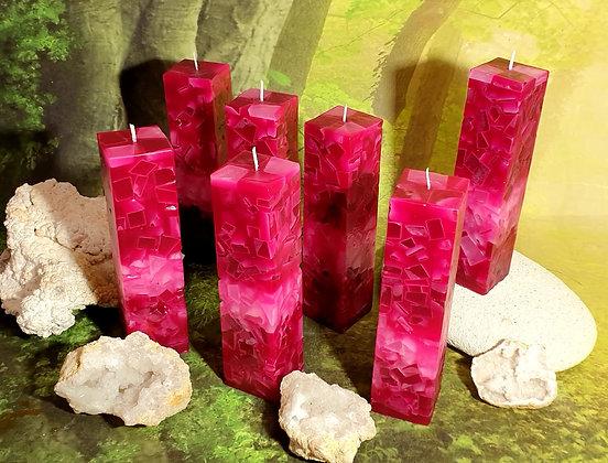 Svíce Rosa 5x5x21