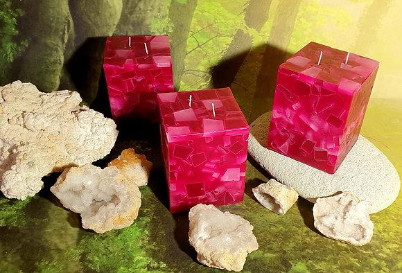 Svíce Rosa 10x10x12